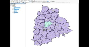 ArcGIS 10.x – Selection – Create layer from selected features – Export to new shapefile