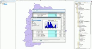 ArcGIS 10.x – Statistics – Having a glance at statistics for field (count, min, max, sum, mean, etc)