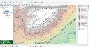 ArcGis converting raster data models to contour polyline features by XTools Pro