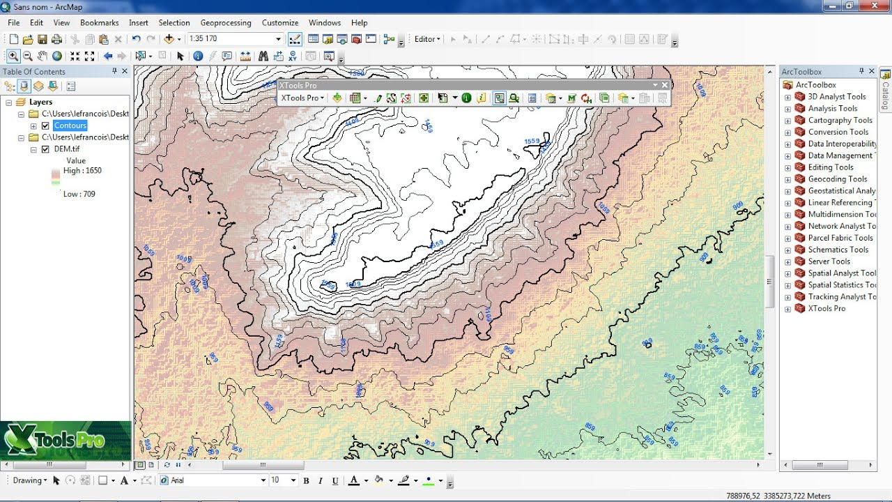 gis mapping tool with Arcgis Converting Raster Data Models To Contour Polyline Features By Xtools Pro on Elevation Profile In Google Maps also Boating additionally How To Create Thematic Map Excel further World Mapper in addition Zip.