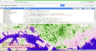 Calculate Band NDVI in Google Earth Engine