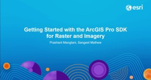 Getting Started with the ArcGIS Pro SDK for Raster and Imagery