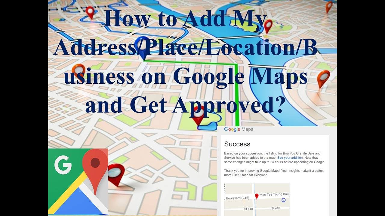 How to add my address or place on google maps ccuart Images