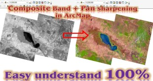 How to composite bands in ArcGIS | Pan Sharpening Imagery in ArcMap
