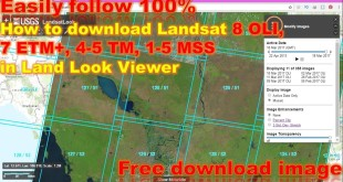 How to download Landsat 8 OLI, 7 ETM+, 4-5 TM, 1-5 MSS