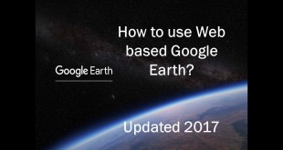 New Web based Google Earth updated 2017
