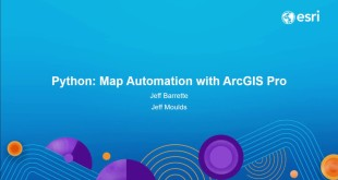 Python: Map Automation in ArcGIS Pro