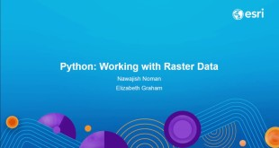 Python: Working with Raster Data