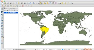 QGIS Python Programming Techniques : Working with Selections | packtpub.com