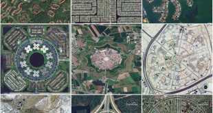 Ten beautiful images of everyday road patterns and neighborhood from space