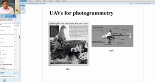 05 July 2017 UAV Photogrametry and its Appliction Shri S Raghavendra