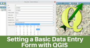 Setting a Basic Data Entry Form with QGIS