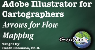 Adobe Illustrator for Cartographers 28: Arrows for Flow Mapping