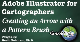 Adobe Illustrator for Cartographers 30: Creating Arrows with Pattern Brushes