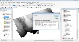 ArcMap 10 Learn how to generate slope maps and reclassify a raster