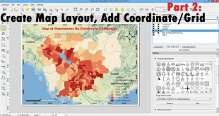 Part 2: Create map layout qgis | Printing and Exporting | Map layout QGIS