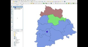 QGIS – Split Vector Layer – Split Polygons into individual shapefiles