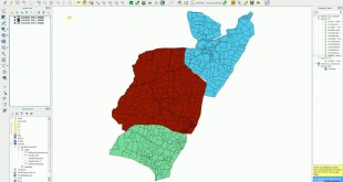 QGIS – Union/Combine Shapefiles – Merge Layers – Method II