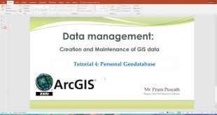 Tutorial 4: Geodatabase management