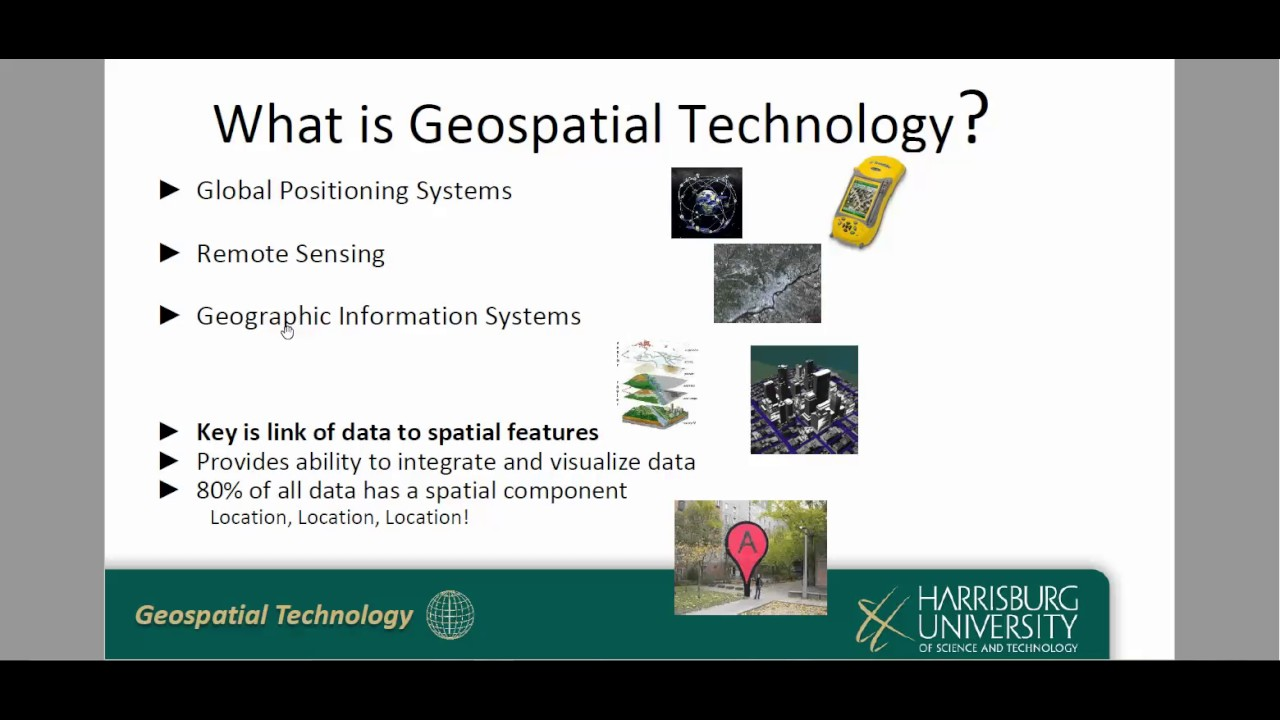 geospatial technology The geotech center is pleased to announce the 2018 undergraduate geospatial technology skills competition the intent of the competition is to showcase the geospatial technology skills of us undergraduate students.