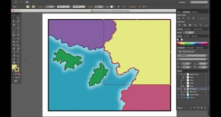 Adobe Illustrator for Cartographers 32: Basic Political Boundaries