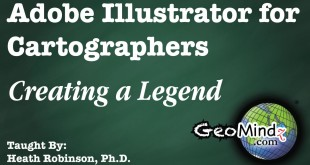 Adobe Illustrator for Cartographers: Creating a Legend