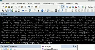 ArcGIS and python for CAD files | burdGIS