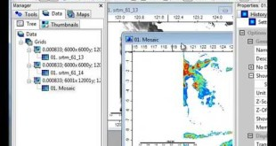 Download and Process SRTM data using SAGA GIS