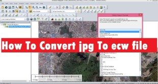 How To Convert jpg To ecw file in Golble Mapper | Convert jpg To ecw