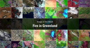 Image of the Week: Fire in Greenland