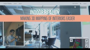 Indoor Reality – making 3D mapping of interiors easier
