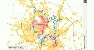 Mobile Location Data: A Revolution in Trade Area Modeling