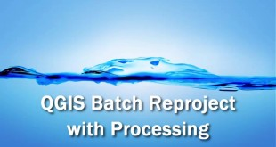 QGIS batch reprojection (vector layers)