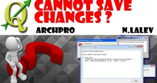 "QGIS: How to solve the ""Cannot save changes"" Bug"