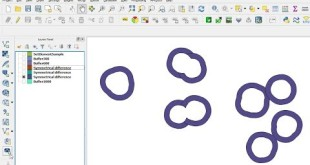 QGIS – Multiple Ring Buffer – Symmetrical Difference – Part II