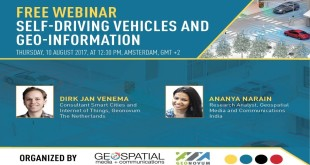 Webinar Live Recording: Self-Driving Vehicles & Geo-information