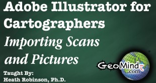 Adobe Illustrator for Cartographers 37: Importing Scans and Pictures