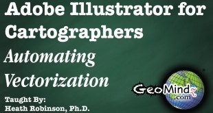 Adobe Illustrator for Cartographers 38: Automating Vectorization