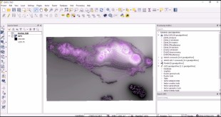 Creating 3D Geospatial Visualization using QGIS and 3JS Plugin