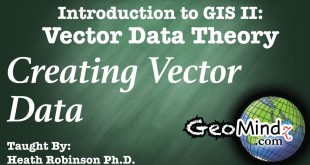 Creating and Finding Vector Data: GIS Vector Data Theory (14)
