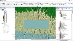 Cut and Fill Analysis using Contour line in ArcGIS