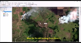 Detect Forest Fire Scars Area Using SWIR Bands