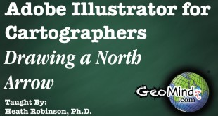 Drawing a North Arrow: Adobe Illustrator for Cartographers (39)
