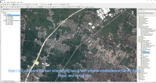 Landsat 8 Pan Sharpening Using NNDiffuse in ENVI 5.2