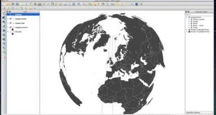 QGIS lesson 20 Adding gridlines to your globe