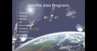 Remote Sensing Datatypes and applications