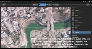 Uncontrolled Mosaic of Aerial Photo Creation Using Microsoft Image Composite Editor