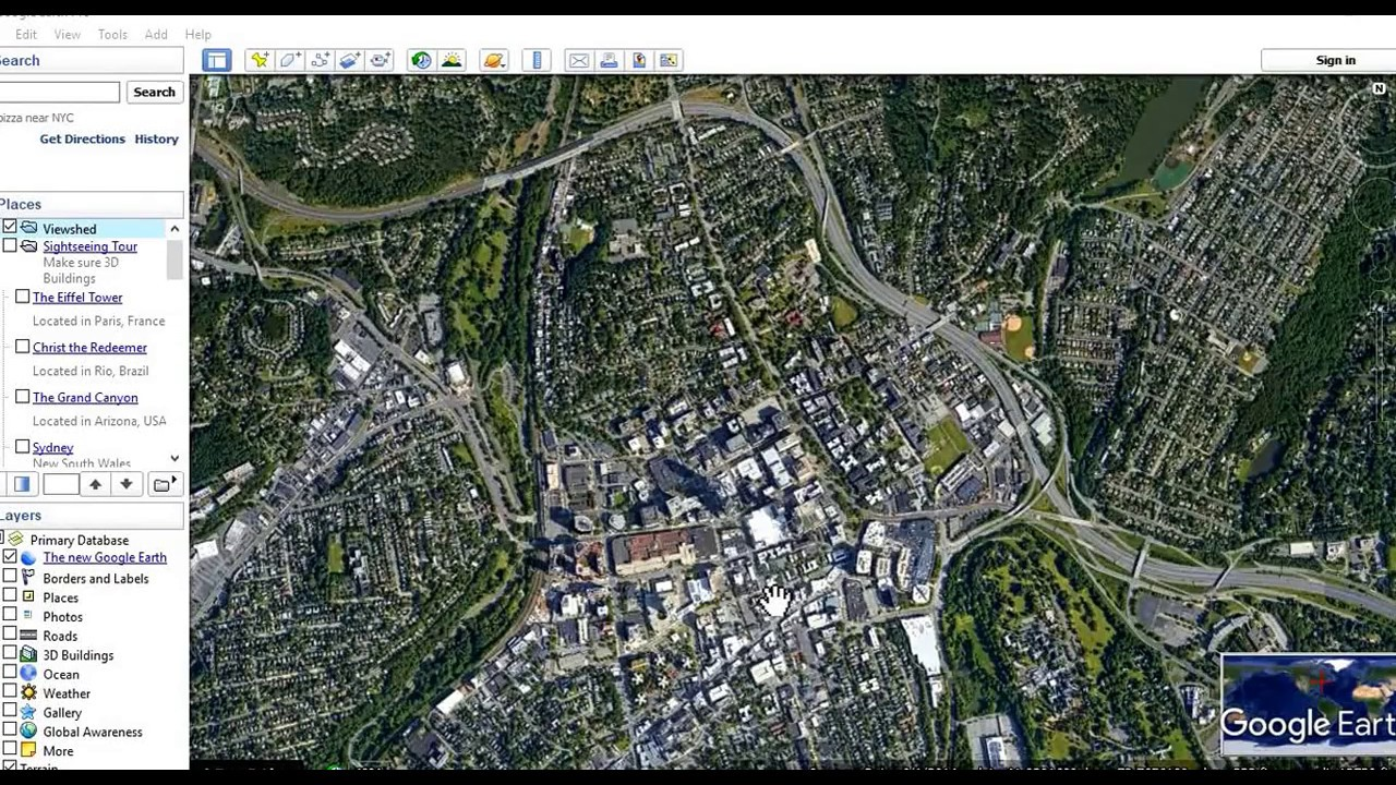 how to draw in google earth pro