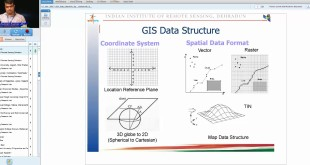 12 Oct 2017 GIS Data Models by Shri Ashutosh Kumar Jha