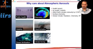 13 Oct 2017 Webinar on Atmospheric Aerosols by Dr. Yogesh Kant